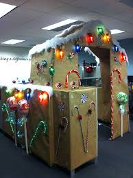 Office Decorating Themes - christmas office decorating ideas for the door woman wins
