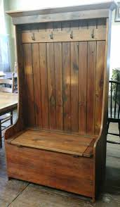 reclaimed barn wood furniture barn wood settle bench hall bench
