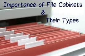types of filing cabinets importance of file cabinets and their types