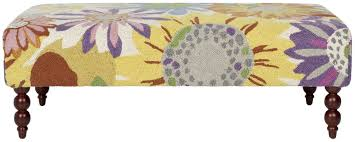 Floral Ottoman Mcr4562a Benches Furniture By Safavieh