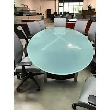 Frosted Glass Conference Table Glass Conference Table
