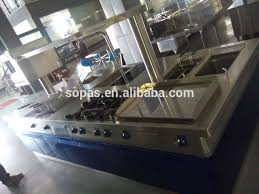 commercial kitchen islands sopas commercial kitchen stove island buy kitchen stove island