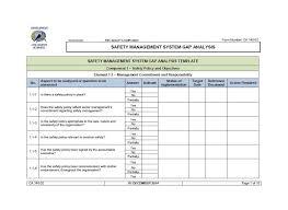 Gap Analysis Template Excel 40 Gap Analysis Templates Exles Word Excel Pdf Free