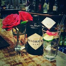 Real Rose Petals Loving How The Ring Serves Real Rose Petals With The Hendricks Gin