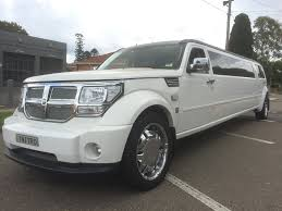 hummer jeep white 10 seater dodge nitro stretch impressive limousines