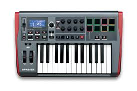 novation impulse 61 usb midi controller keyboard 61 keys amazon