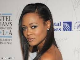 robin givens hair robin givens naturally long hair and deep dimples african