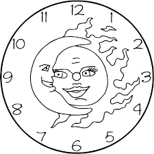 sun and moon coloring pages get coloring pages