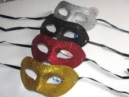 mask for masquerade electroplate gold powder flat mask masquerade mardi gras