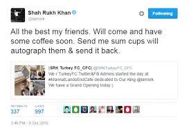 Meme Account Names - srk s turkish fans start cafe named after his sprawling bungalow mannat
