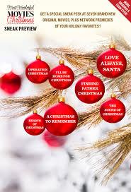 most wonderful movies of christmas holiday movies sneak peek