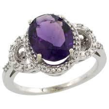 amethyst stone rings images Color gemstone rings jpg