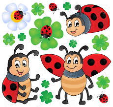 image with ladybug theme 1 vector illustration royalty free