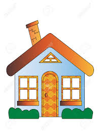 house clipart cartoon pencil and in color house clipart cartoon