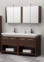 double sink wall hung vanity unit twin vanity double sink designer unit in walnut wall mounted mirror