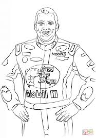 tony stewart coloring page free printable coloring pages