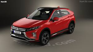 mitsubishi 2017 360 view of mitsubishi eclipse cross 2017 3d model hum3d store