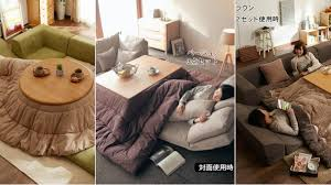 Japanese Kotatsu This Japanese Invention Lets You Stay Cozy Under A Blanket