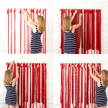 make this instagram worthy photo booth backdrop for your 4th of