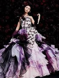 purple wedding dress purple and white wedding dress naf dresses