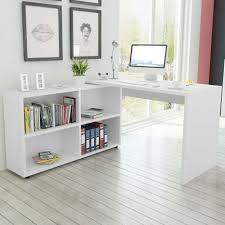 Corner Desk Bedroom White Corner Desk Home Office Computer Table Study Workstation
