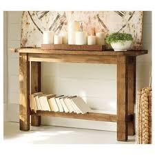 Pine Console Table Hyde Console Table Rustic Pine Stain By Potterybarn Com Olioboard