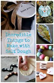 things to make with salt dough how wee learn
