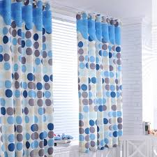 Polka Dot Curtains Fresh Polka Dots Polyester Blackout Curtains In Blue Buy Blue