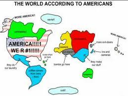 america in world map american world map