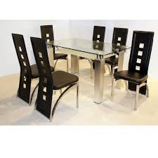 clearance dining room sets glass dining table and chairs clearance 2399