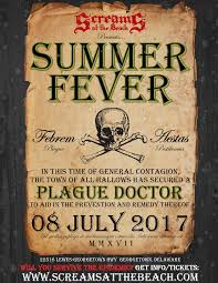 team screams meet the plague doctor on 7 8 at summer fever