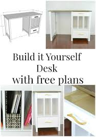 Diy Desk Plans Free by The 25 Best Desk Plans Ideas On Pinterest Woodworking Desk