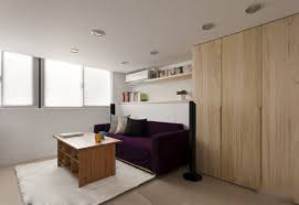 Small Loft Bedroom Decorating Ideas Modern Small Apartment With Open Plan And Loft Bedroom