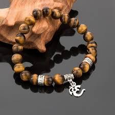 bracelet stone images Tiger eye stone om bracelet chakras store jpg