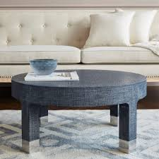 round coffee table navy bungalow 5
