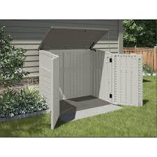 exterior suncast storage shed for inspiring outdoor storage