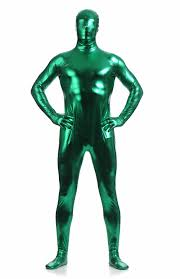 skin suits halloween online shop lzcmsoft full men metallic zentai suit catsuits hooded