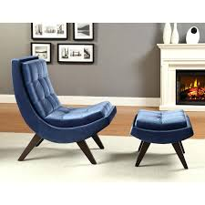 navy blue chair and ottoman blue chair and ottoman navy armchair leather