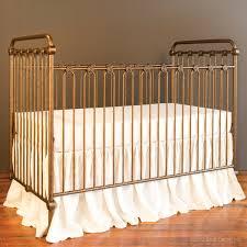 joy baby crib vintage gold