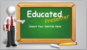 Educational Powerpoint Themes Animated Blackboard Template For Educational Powerpoint Themes