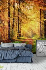 90 best forest wall murals images on pinterest wallpaper designs autumn forest 2 wall mural wallpaper