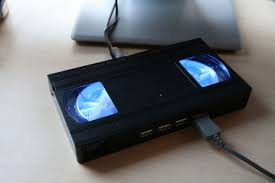 glowing video tape usb hub 11 steps with pictures