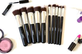 affordable brushes laroc 10 piece kabuki make up brush set pam