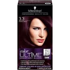 schwarzkopf keratin color anti age hair color cream 3 3 amethyst