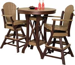 Outdoor Bar Table And Chairs Set Table And Chair Sets South Texas Amish Furniture U0026 Amish