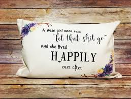 Wise Decor by A Wise Once Said Home Decor Pillow Funny Decor Deer