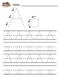 printable alphabet letter tracing worksheets letter formation