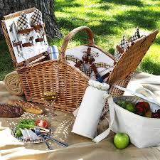 picnic basket set for 4 huntsman picnic basket for 4 w coffee set picnic blanket london