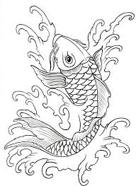 making koi fish tattoo sketch in 2017 real photo pictures