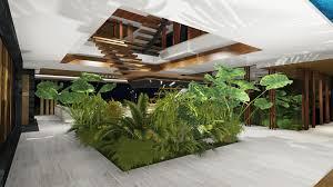 Garden Inside House by Xálima Island House By Martin Ferrero Architecture 31 Casas